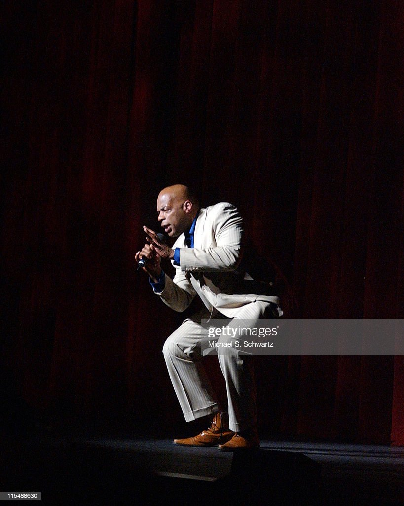 Alonzo Bodden during 'weSparkle, Take VI Comedy Tonight' Honoring Jonathan Winters at The Alex Theatre in Glendale, California, United States.