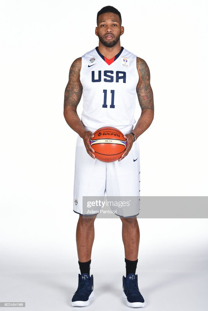 Alonzo Gee #11 of Team USA poses for a head shot on February 20, 2018 at the LA Clippers Training Center in Playa Vista, California.