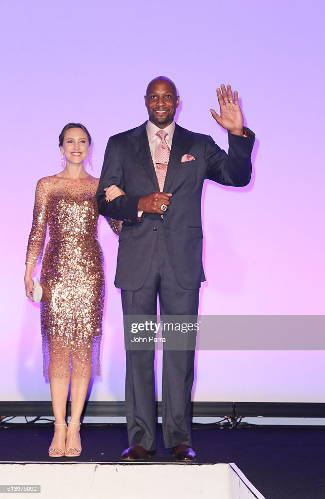 Alonzo Mourning attends Destination Fashion 2016 to benefit The Buoniconti Fund to Cure Paralysis, the fundraising arm of The Miami Project to Cure Paralysis at Bal Harbour Shops on March 5, 2016 in Miami, Florida.