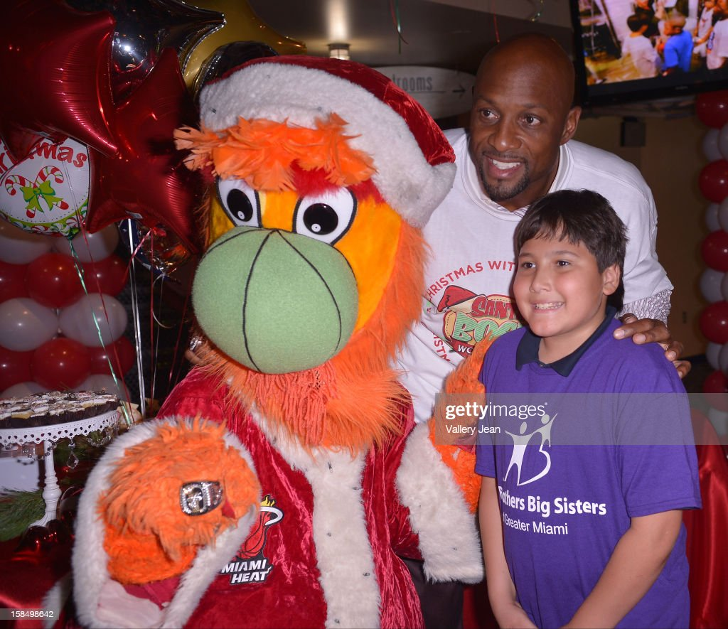 Alonzo Mourning attends the 'Santa Bosh's Workshop' Celebration at Game Time at Sunset Place on December 17, 2012 in Aventura, Florida.