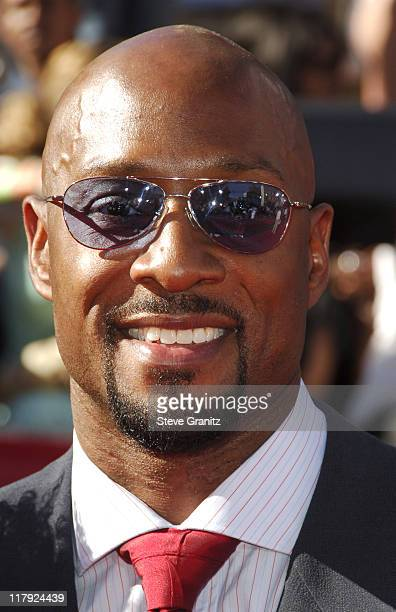Alonzo Mourning during 2006 ESPY Awards Arrivals at Kodak Theatre in Los Angeles California United States