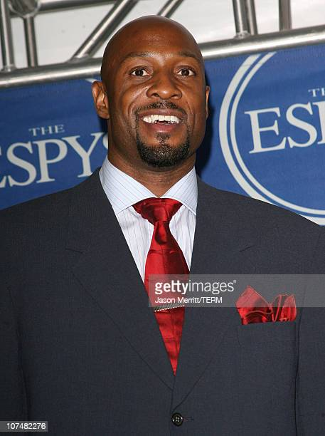 Alonzo Mourning during 2006 ESPY Awards Press Room at Kodak Theatre in Los Angeles California United States