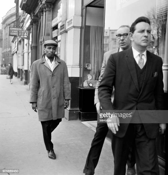 Aloysius Gordon also known as Lucky Gordon a witness at the Old Bailey today in the missing model case 15th March 1963