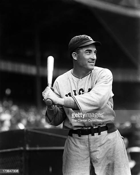 Aloysius H Simmons of the Chicago White Sox at bat in 1933