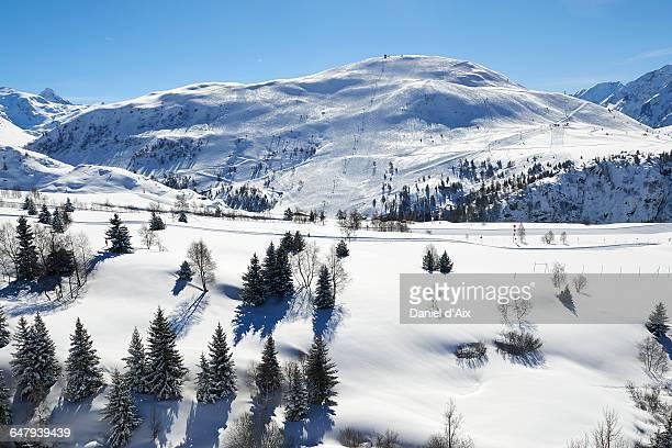 Alpe d'Huez, french ski resort