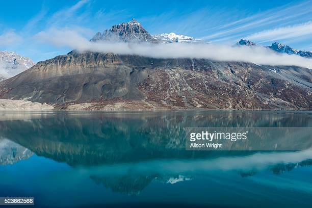 alpefjord, northeast greenland - northeast stock photos and pictures