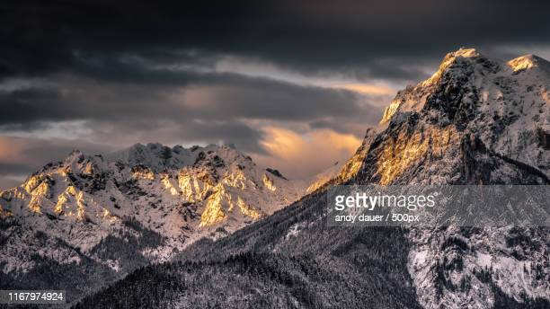 alpenglow - images stock pictures, royalty-free photos & images