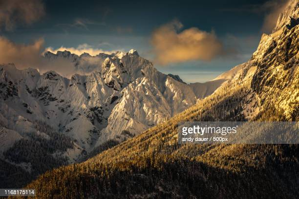 alpenglow you - andy dauer stock photos and pictures