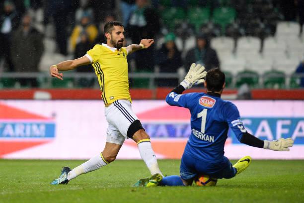 Fotos Und Bilder Von Konyaspor Fenerbahce Turkish Super Lig