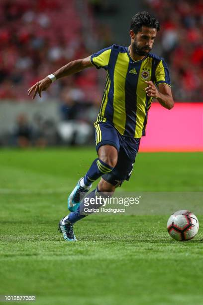 Alper Potuk of Fenerbache SK during the match between SL Benfica and Fenerbache SK for UEFA Champions League Qualifier at Estadio da Luz on August 7...