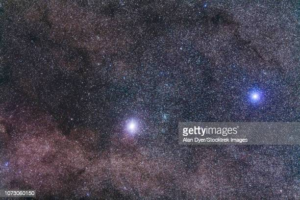 Alpha and Beta Centauri in Centaurus.