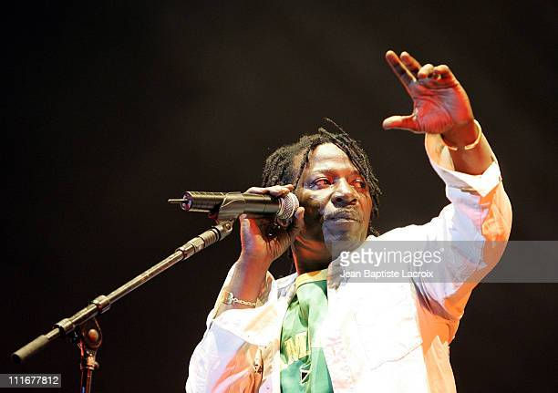 Alpha Blondy during Solidays 2004 Day 1 at Hippodrome de Longchamps in Paris France