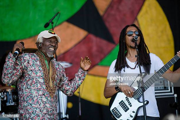 Alpha Blondy The Solar System performs during the New Orleans Jazz Hertiage Festival at the New Orleans Jazz Heritage Festival at Fair Grounds Race...