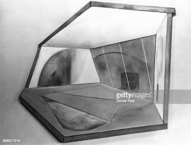 JAN 22 1979 JAN 23 1979 JAN 24 1979 'Alpha Centauri' By David Wolfe In exhibition at St Charles On Wazee Gallery The use of irregularly shaped canvas...