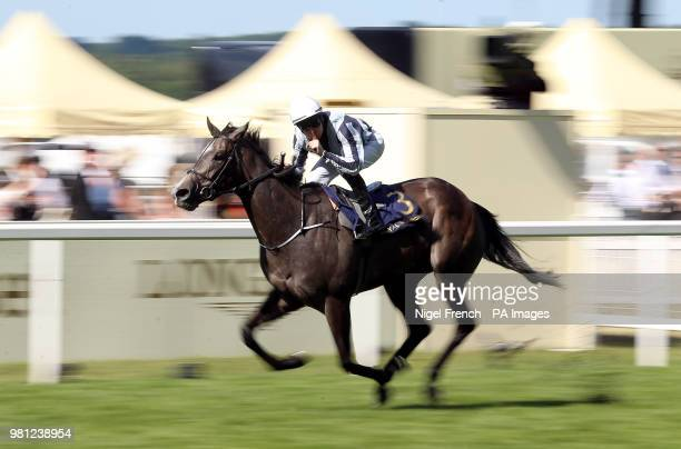Alpha Centauri ridden by jockey Colm O'Donoghue wins the Coronation Stakes during day four of Royal Ascot at Ascot Racecourse