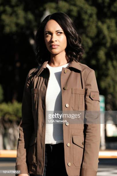 SHOOTER 'Alpha Dog' Episode 309 Pictured Cynthia AddaiRobinson as Agent Nadine Memphis