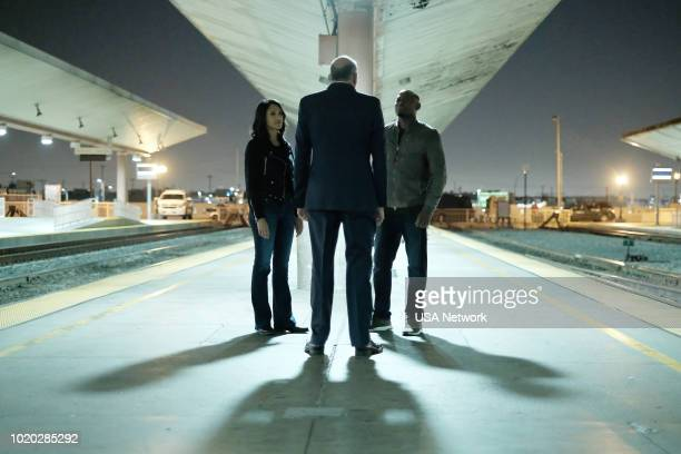 SHOOTER 'Alpha Dog' Episode 309 Pictured Cynthia AddaiRobinson as Agent Nadine Memphis Omar Epps as Isaac Johnson