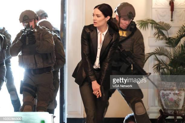 SHOOTER 'Alpha Dog' Episode 309 Pictured Mallory Jansen as Margo James