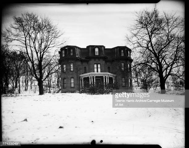 Alpha Phi Alpha fraternity house formally Coleman Home for Boys 3046 Centre Avenue Hill District Pittsburgh Pennsylvania March 1948