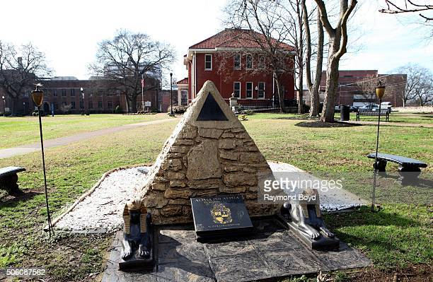 Alpha Phi Alpha's Fraternity plot at Fisk University on January 1 2016 in Nashville Tennessee