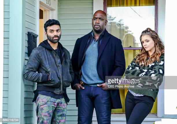 'Alpha Test' Pictured Jake Matthews as Tariq Bakar Richard T Jones as Detective Tommy Cavanaugh and Alexandra Chado as Lizzie Moore Tariq has a...