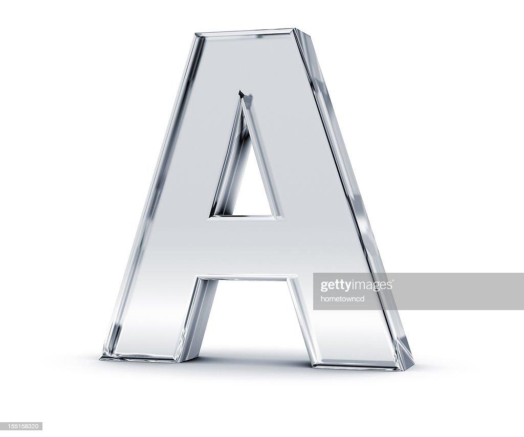 Alfabeto um : Foto de stock