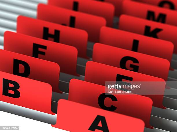 Alfabeto de catálogo