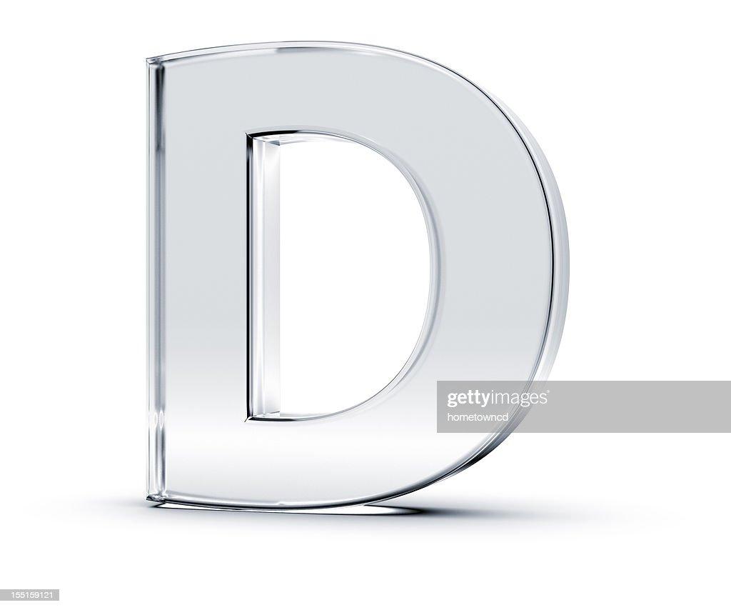 Alfabeto D : Foto de stock