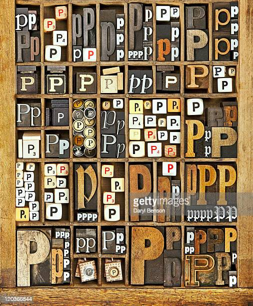 alphabet - letter p stock pictures, royalty-free photos & images