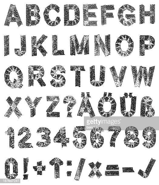 alphabet - font stock photos and pictures