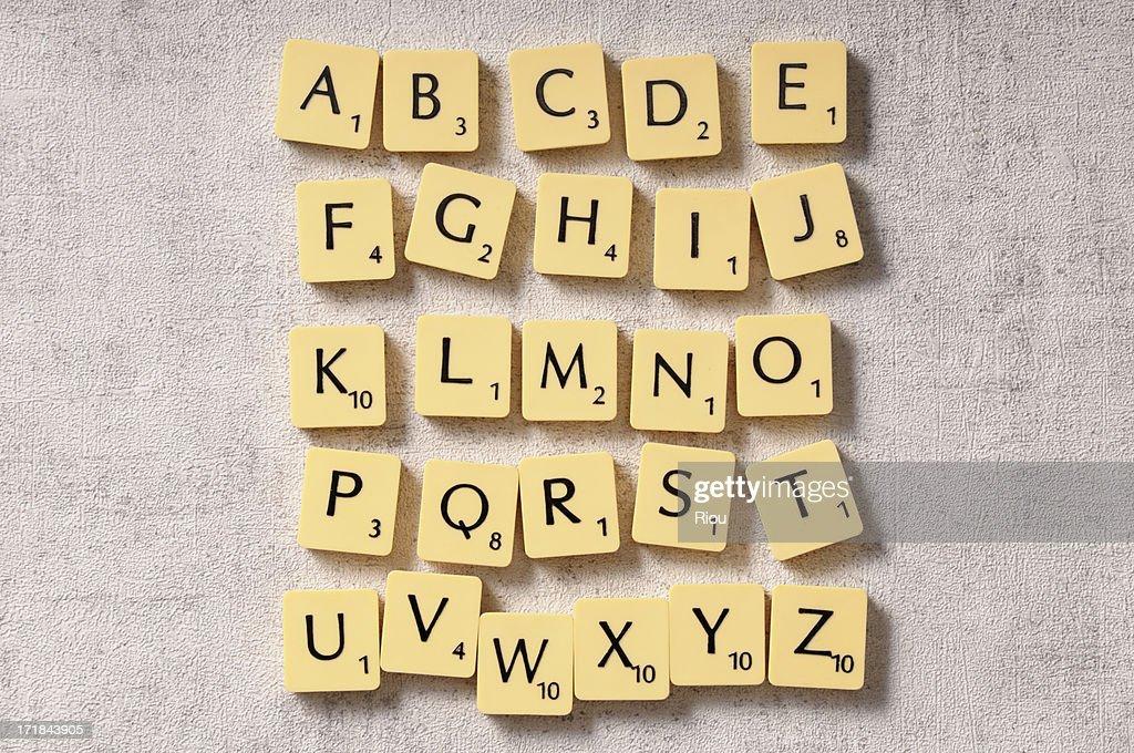 alphabet : Stock Photo