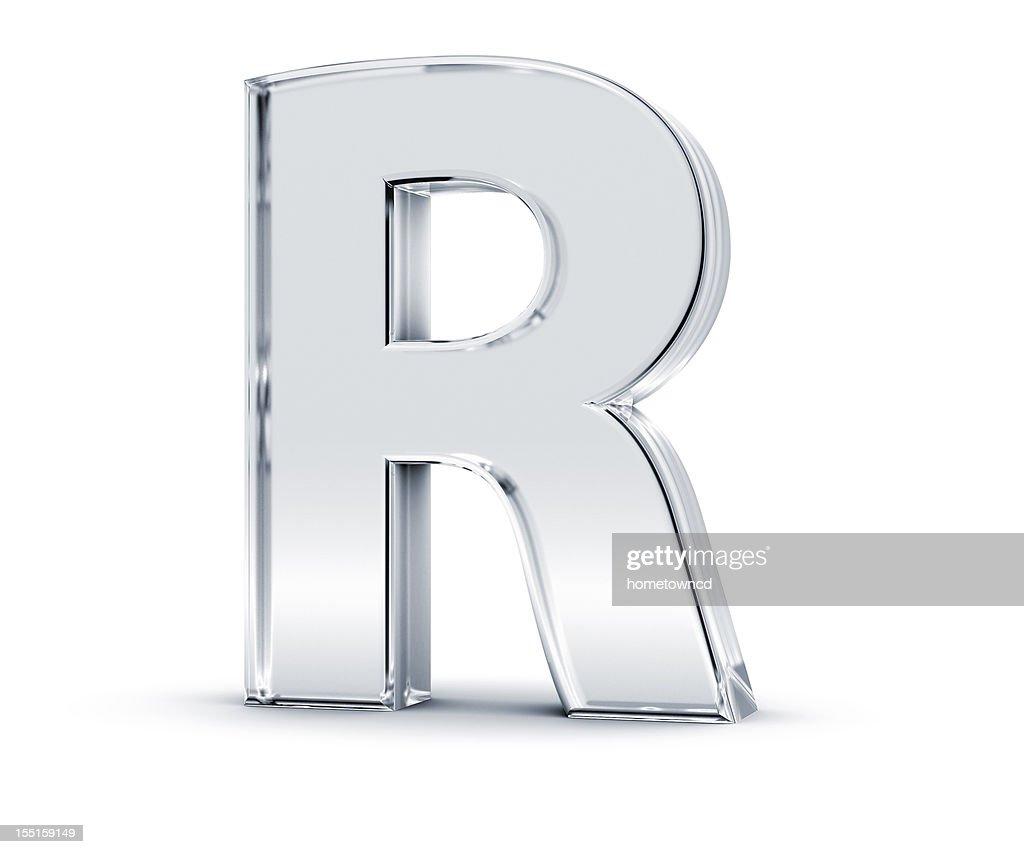 Alphabet R : Stock Photo