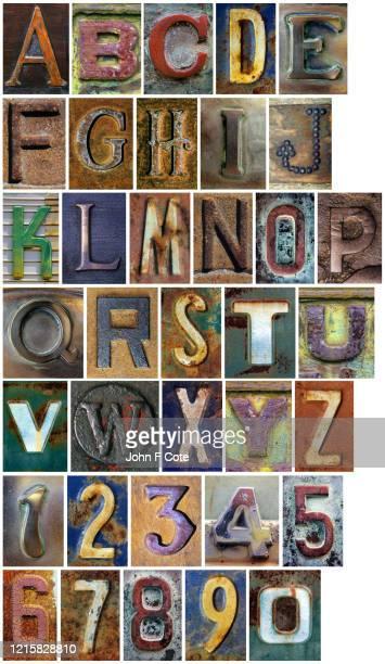 alphabet_letters_numbers_1a - pejft 個照片及圖片檔