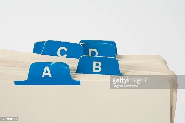Alphabetical file