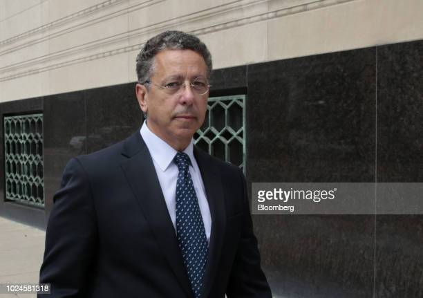 Alphons Iacobelli former vice president of union relations at Fiat Chrysler Automobiles NV exits federal court in Detroit Michigan US on Monday Aug...