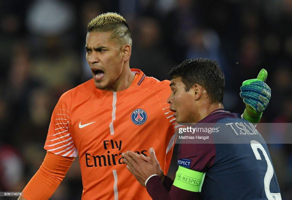 Paris Saint-Germain v Real Madrid - UEFA Champions League Round of 16: Second Leg : Fotografia de notícias