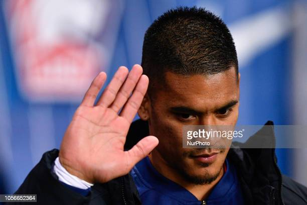 Alphonse Areola during the french Ligue 1 match between Paris SaintGermain and Lille at Parc des Princes stadium on November 2 2018 in Paris France