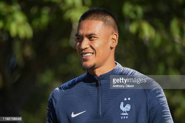 Alphonse Areola of France during France training session on September 2 2019 in Clairefontaine France