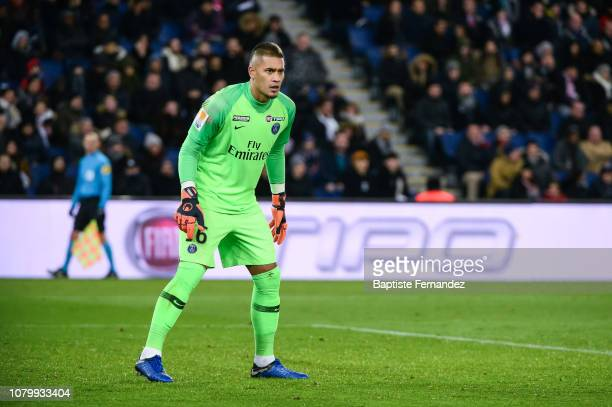 Alphonse Areola of Paris Saint GermainAlphonse Areola of Paris Saint Germain during the French Cup Football match between Paris Saint Germain and...