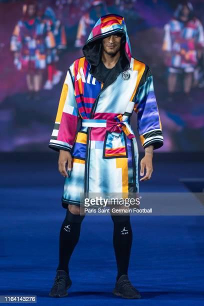 Alphonse Areola of Paris SaintGermain poses during fashion show on July 25 2019 in Shenzhen China