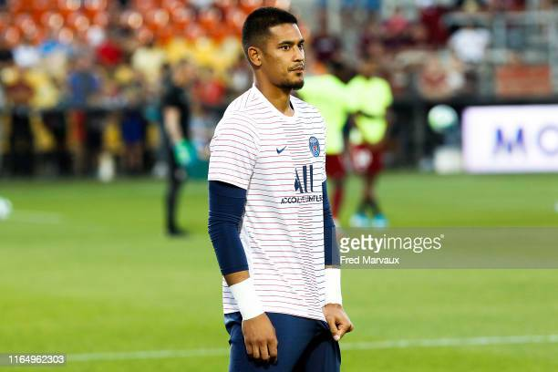 Alphonse Areola of PSG during the Ligue 1 match between Metz and Paris Saint Germain on August 30 2019 in Metz France
