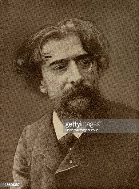 Alphonse Daudet 18401897 French novelist From the book 'The Masterpiece Library of Short Stories French Volume 4'