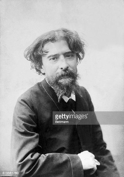 Alphonse Daudet French Novelist Photograph