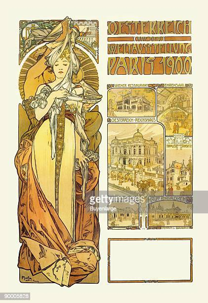Alphonse Maria Mucha was a Czech Art Nouveau painter. However, he did a great many posters and prints. The period of his work has become known as the...