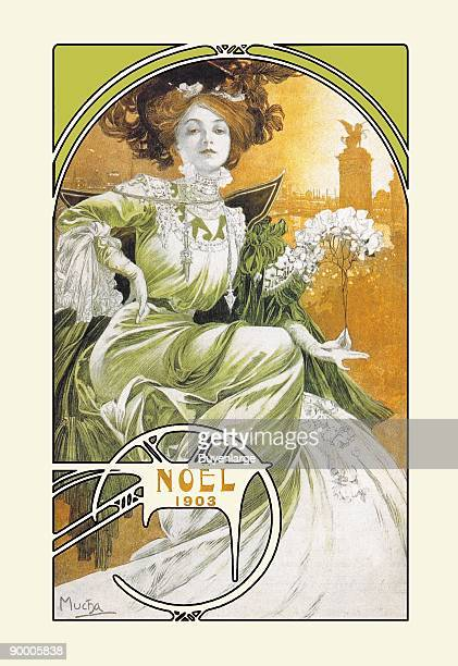 Alphonse Maria Mucha was a Czech Art Nouveau painter However he did a great many posters and prints The period of his work has become known as the...