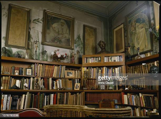 Alphonse Mucha's Library