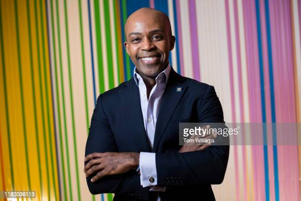 Alphonso David, president of the Human Rights Campaign, is photographed in their office on Tuesday, November 12, 2019.