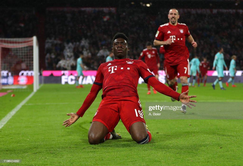 FC Bayern Muenchen v 1. FSV Mainz 05 - Bundesliga : ニュース写真