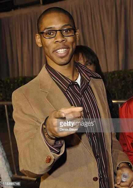 """Alphonso McAuley during Walt Disney Pictures and Jerry Bruckheimer Films' Premiere """"Glory Road"""" at Pantages Theatre in Hollywood, California, United..."""