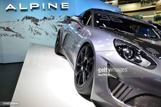 Alpine 36 Sport during the Mondial Paris Motor Show 2018 in Paris France on October 5 2018